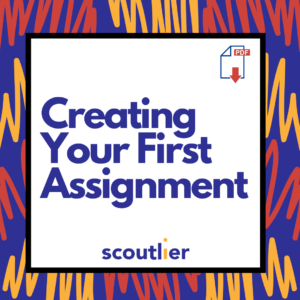 Creating Your First Assignment Video Image