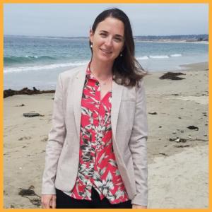 Dr. Mara at the beach