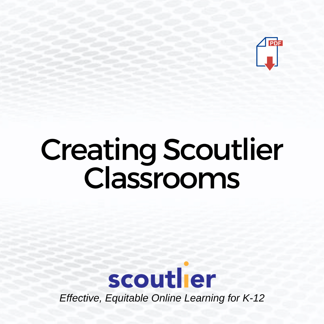 Opens Creating Scoutlier Classrooms PDF